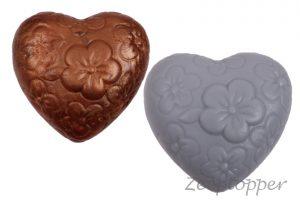 zeep hart bloemen (Z-0008)