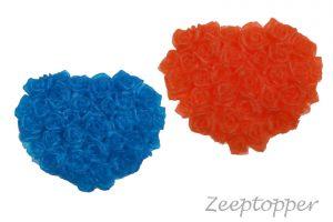 zeep hart bloemen (Z-0012)