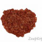 Zeep hart met bloemen (Z-0012)