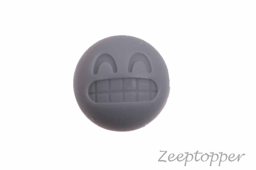 zeep smiley (Z-0158H) grijs
