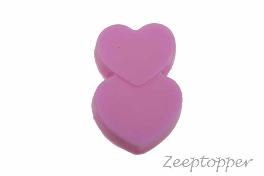 zeep hartjes (Z-0203E) fel roze
