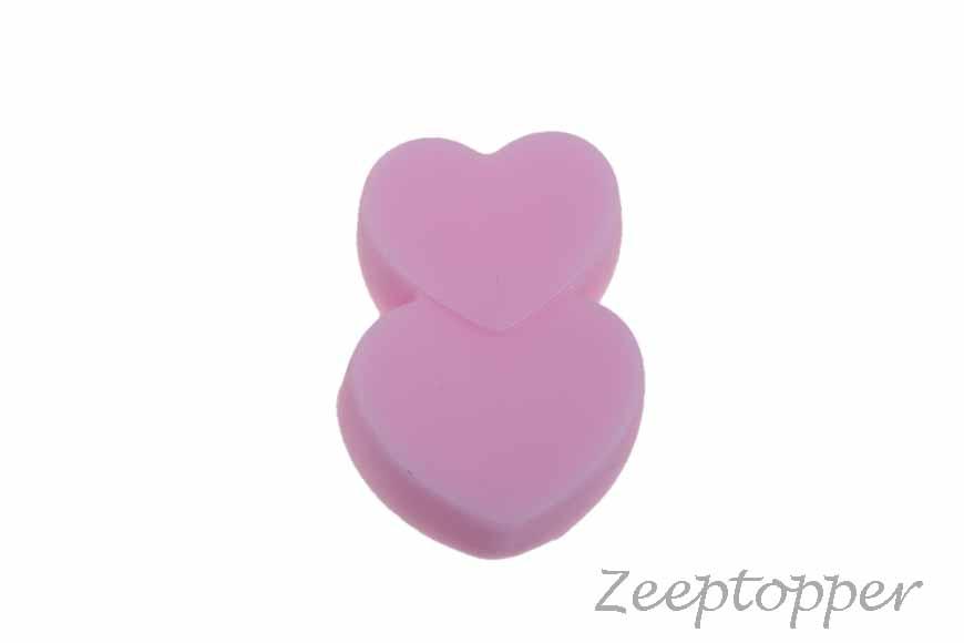 zeep hartjes (Z-0203G) roze