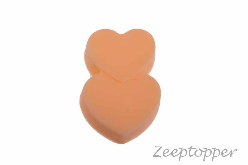 zeep hartjes (Z-0203M) oranje