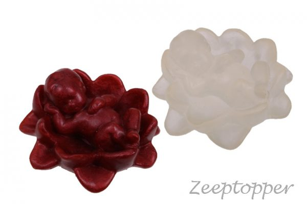 zeep baby op bloem (Z-0285)