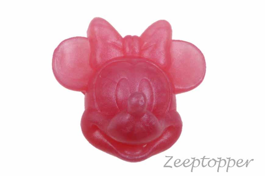 zeep mini mouse (Z-0351GP) roze parelmoer