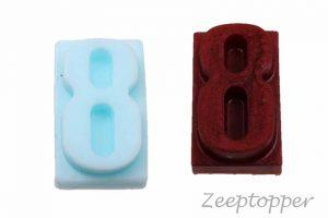 zeep cijfer (Z-0401)