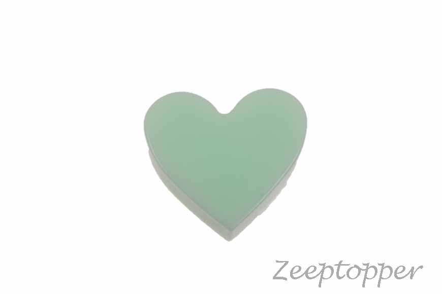 zeep hartje (Z-0416B) groen