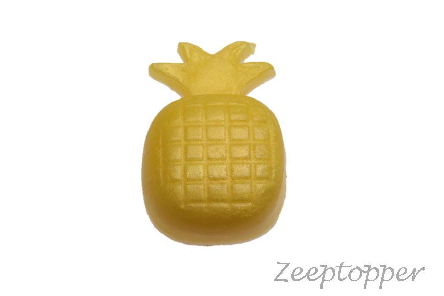 zeep ananas (Z-0423IP) geel parelmoer