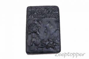 zeep bloemen (Z-0728LP) zilver parelmoer