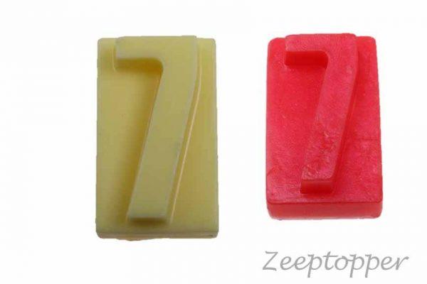 zeep cijfer 7 (Z-1567)