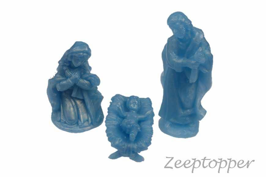 Z-0294 zeep kerststal