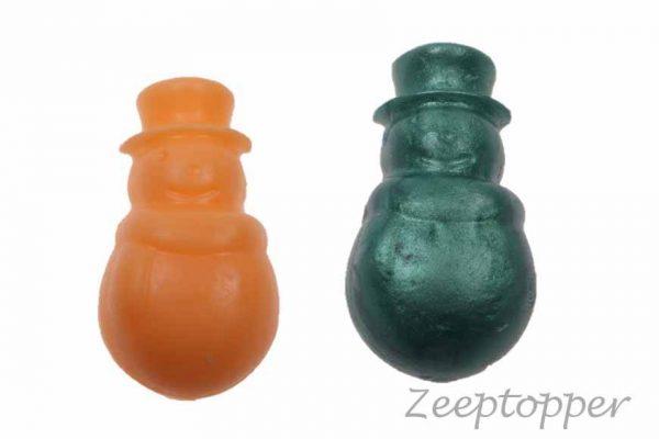 Z 0941 sneeuwpop zeepjes