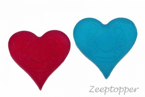 zeep hartje met hoefijzer (Z-1416)