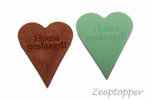 zeep hart met tekst (Z-1469)