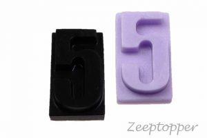 zeep cijfer 5 (Z-1565)