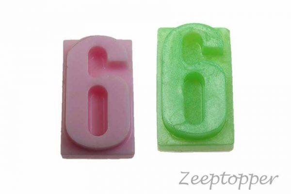 zeep cijfer 6 (Z-1566)