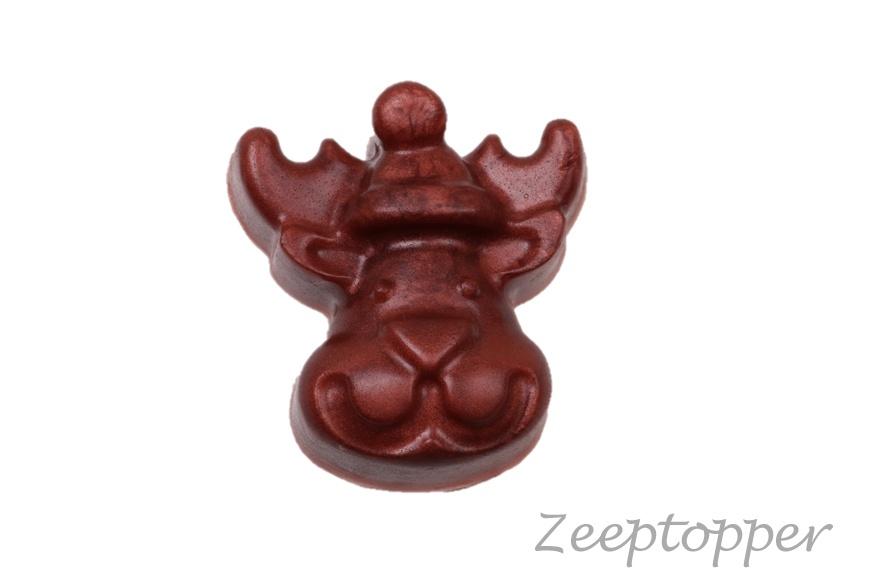 zeep rendier (Z-1595CRP) roodbruin parelmoer