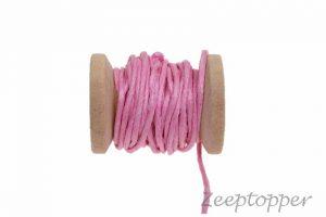 DW-0009 waxkoord - katoendraad roze