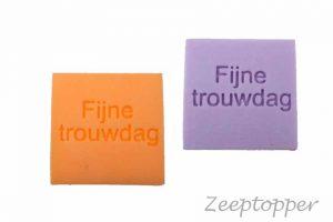 zeep met tekst (Z-1445)