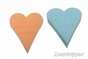 zeep hart met tekst (Z-1460)
