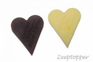 zeep hart met tekst (Z-1462)