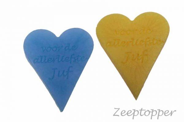zeep hart met tekst (Z-1463)
