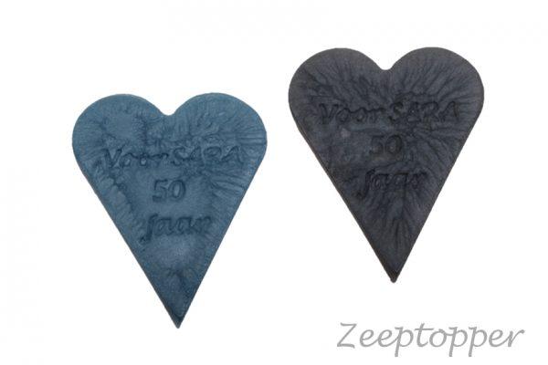 zeep hart met tekst (Z-1465)