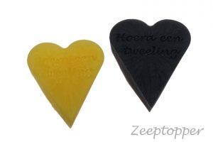 zeep hart met tekst (Z-1468)