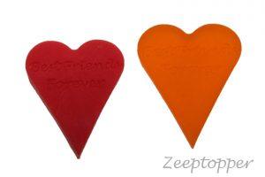 zeep hart met tekst (Z-1470)