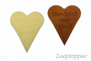 zeep hart met tekst (Z-1472)