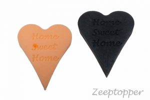 zeep hart met tekst (Z-1473)