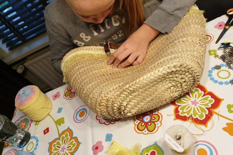 Workshop Ibiza tas maken voor kinderen bij de Zeeptopper